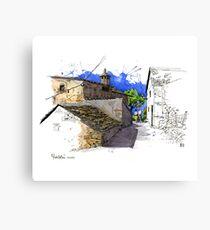 Puertolas, historic Spanish village Canvas Print