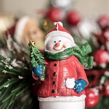 Christmas Snowman by adamcal