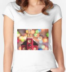 Come Let Us Adore Him Women's Fitted Scoop T-Shirt