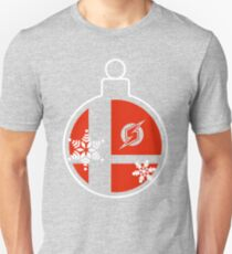Christmas Smash Bros Baubles - Samus, Zero Suit Samus Unisex T-Shirt