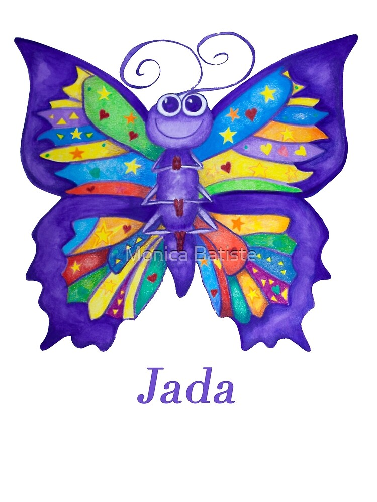 A Yoga Butterfly for Jada by Monica Batiste