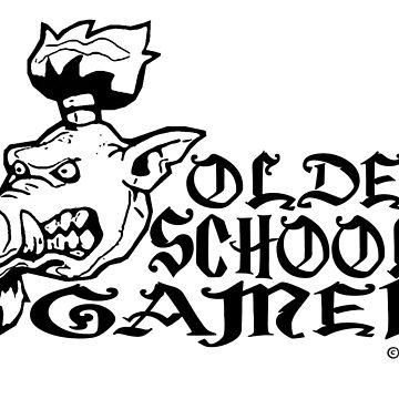 Old School Gamer by okumarts
