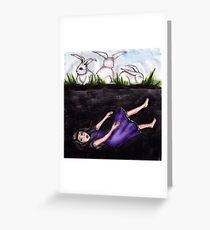 Don't be disheartened my child.. Greeting Card