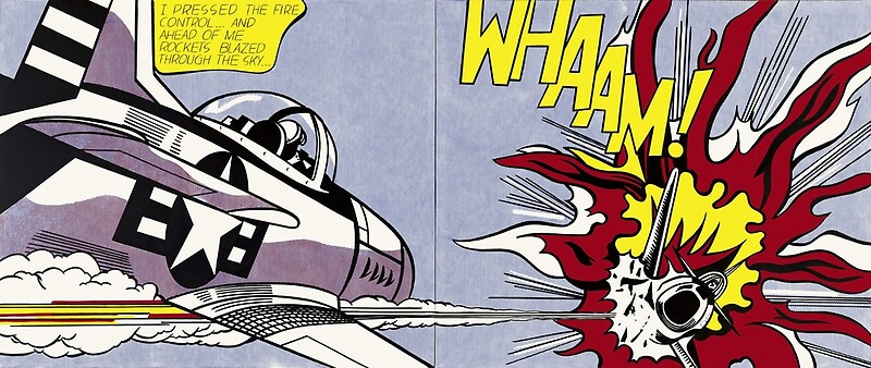 Roy Lichtenstein Whaam! Framed Print poster\