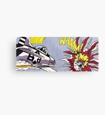Roy Lichtenstein Whaam! Framed Print poster Metal Print