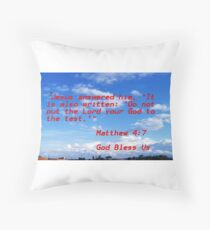 Matthew Throw Pillow
