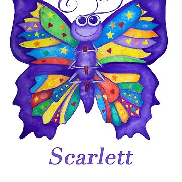 A Yoga Butterfly for Scarlett by MonicaArtist