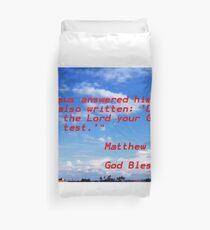 Matthew Duvet Cover