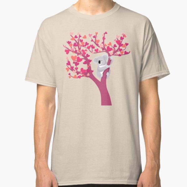 Love Koala in Tree Classic T-Shirt