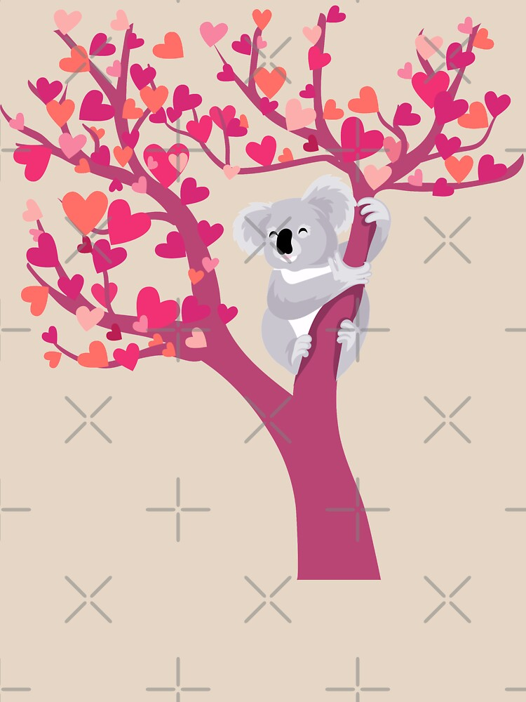 Amor Koala en árbol de PepomintNarwhal