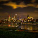 Brisbane CBD from Bulimba by Kim Austin
