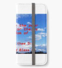 Matthew iPhone Wallet/Case/Skin