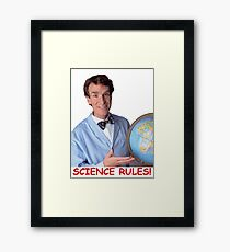 Bill Nye the Science Guy Framed Print