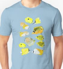 Butterflyfish of the tropical Pacific T-Shirt