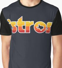 Astro Inspired Stros Throwback Graphic T-Shirt