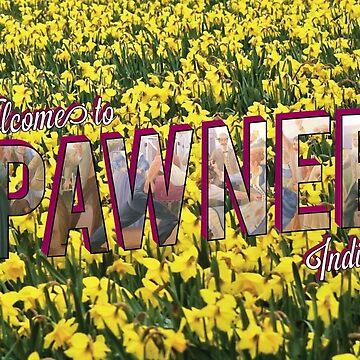 Pawnee Vintage Postcard by gpunch