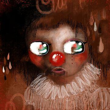 Gold Clown  by Hyssopartz