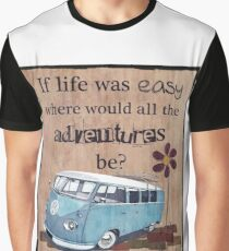 VW Life is easy Graphic T-Shirt