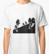 Camiseta clásica The upside down