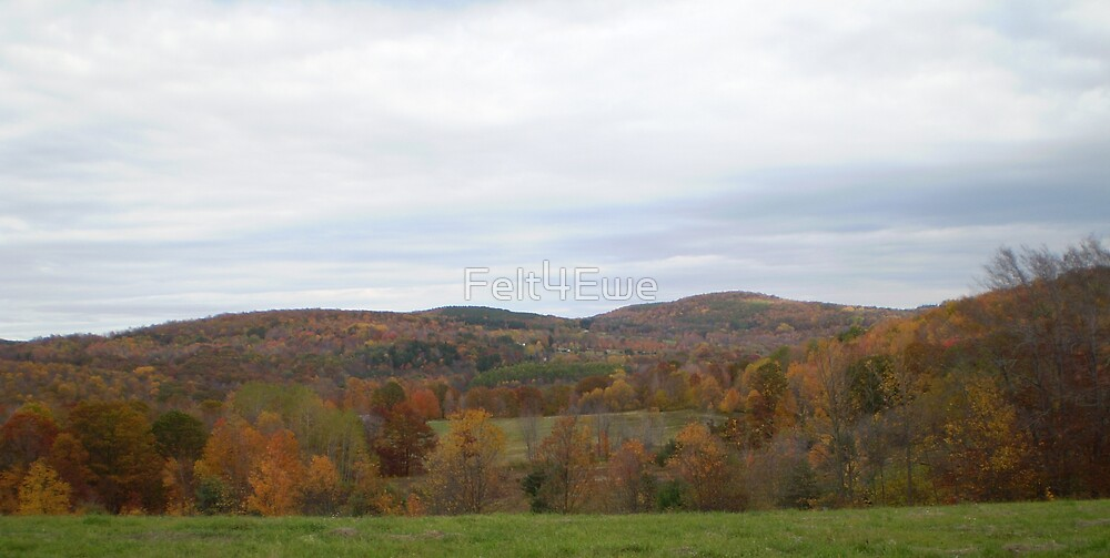 Autumn Landscape by Felt4Ewe