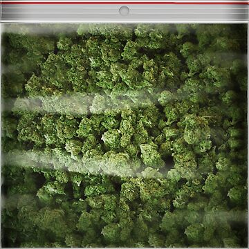 A big old bag of weed pillow case by bernys