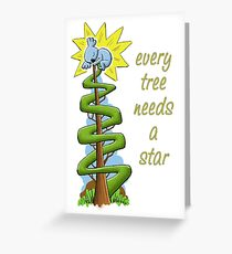 Every Tree Needs a (Koala) Star Greeting Card