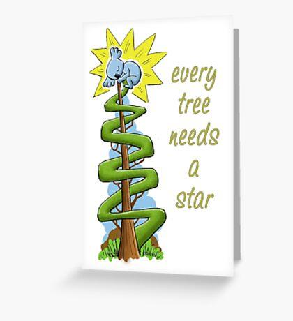 Every Tree Needs a (Koala) Star Greeting Card