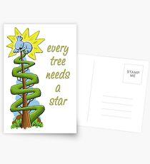Every Tree Needs a (Koala) Star Postcards