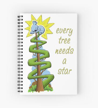 Every Tree Needs a (Koala) Star Spiral Notebook