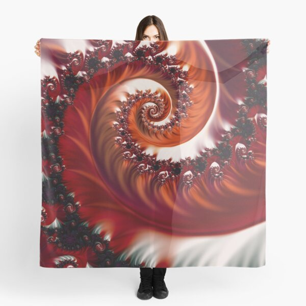 Crimson Passion - Heart of the Rose Scarf