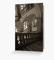 Stair Maze Greeting Card