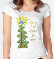 Every Tree Needs a (Koala) Star Fitted Scoop T-Shirt