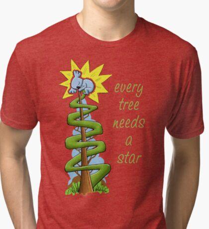 Every Tree Needs a (Koala) Star Tri-blend T-Shirt