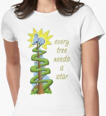 Every Tree Needs a (Koala) Star Fitted T-Shirt
