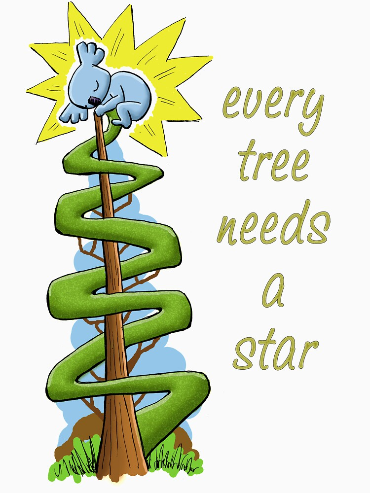 Every Tree Needs a (Koala) Star by eddcross