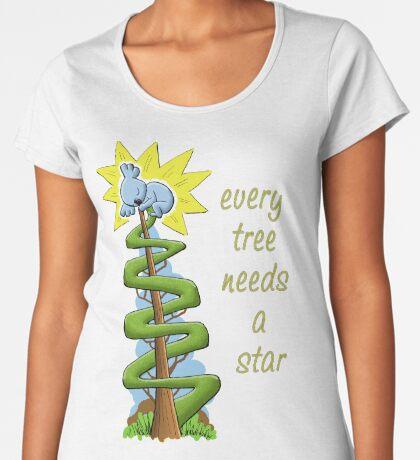 Every Tree Needs a (Koala) Star Premium Scoop T-Shirt
