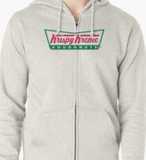 Sudadera con capucha y cremallera Logotipo de Krispy Kreme