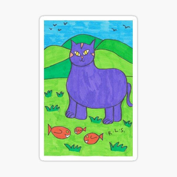 Mystic Cat Sticker
