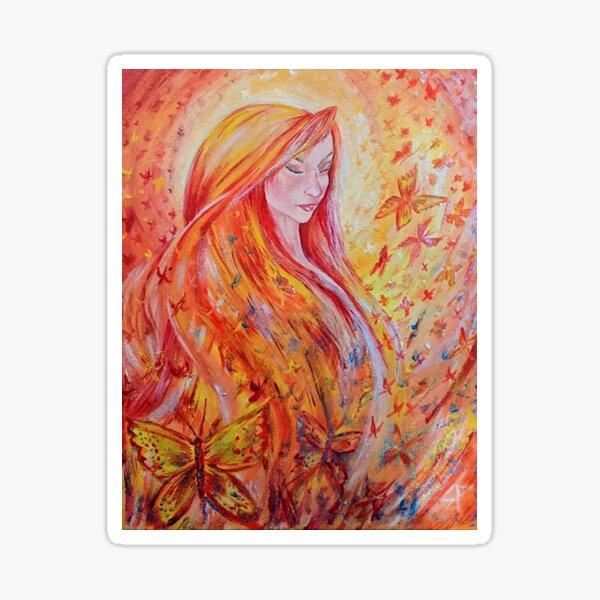 Abundant Goddess Sticker
