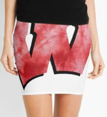 University of Wisconsin tie dye sticker Mini Skirt