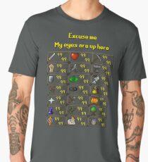 Runescape - My eyes are up here Men's Premium T-Shirt