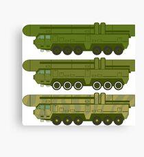Missile Machine Canvas Print