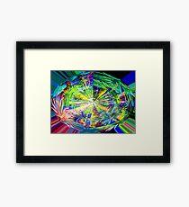 Kaleidoscope, below the rainforest. 2 Framed Print