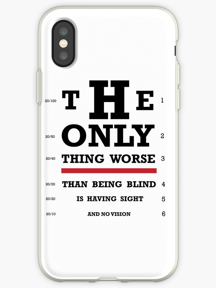 Vision Eye Chart Iphone Cases Covers By Delta12designs Redbubble