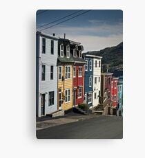 Jellybean Row Canvas Print