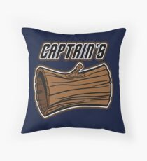 STAR TREK CAPTAINS LOG DESIGN -star trek rb partner program Floor Pillow
