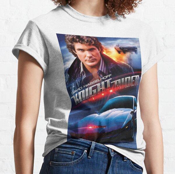 Knight Rider - Hasselhoff  Classic T-Shirt