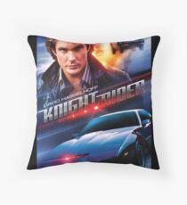 Knight Rider - Hasselhoff  Throw Pillow