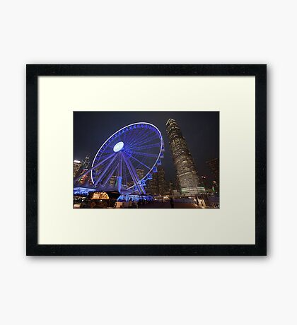 Hong Kong Eye Framed Print