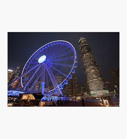 Hong Kong Eye Photographic Print